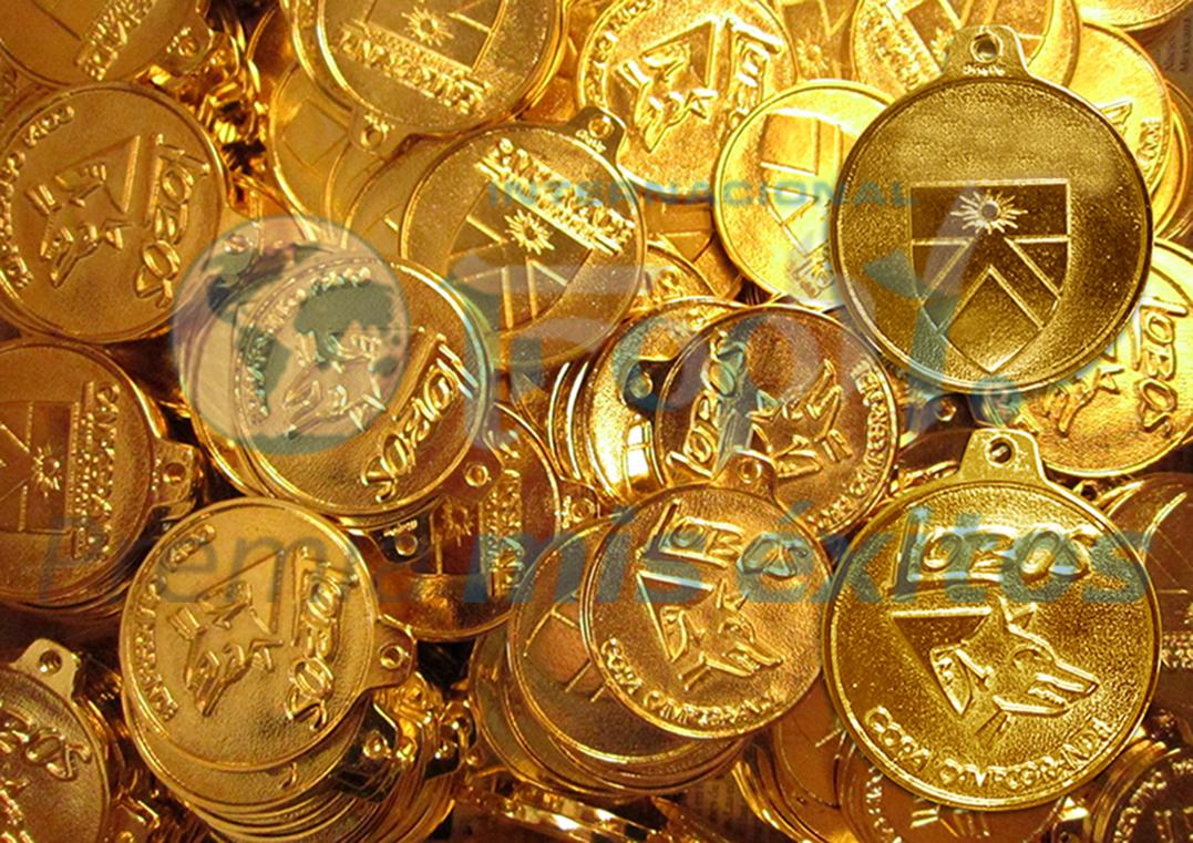 Medallas brillantes