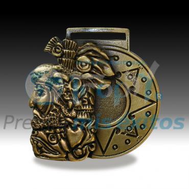 Medalla Cara Azteca