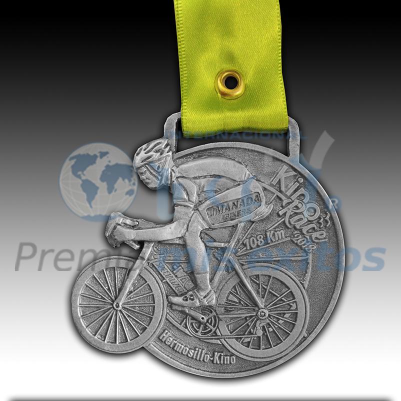 Medalla Ciclismo KIPO RACE