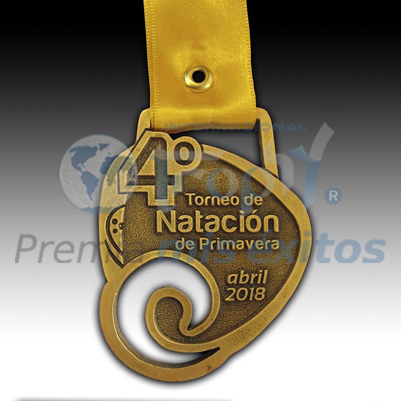 Medalla NATACIÓN torneo Primavera