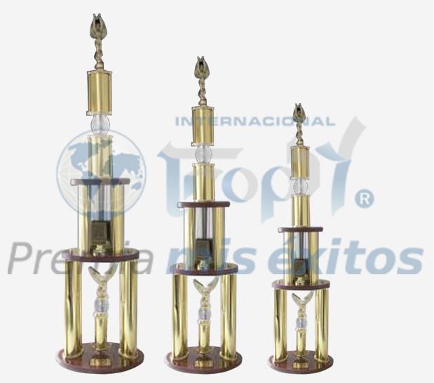 Trofeos línea Diamante